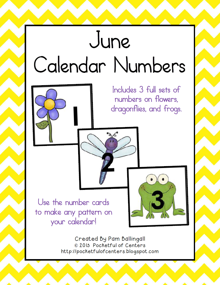 June Calendar Numbers | Calendar Numbers, Calendar Printable Numbers 1 31 Classroom Sets
