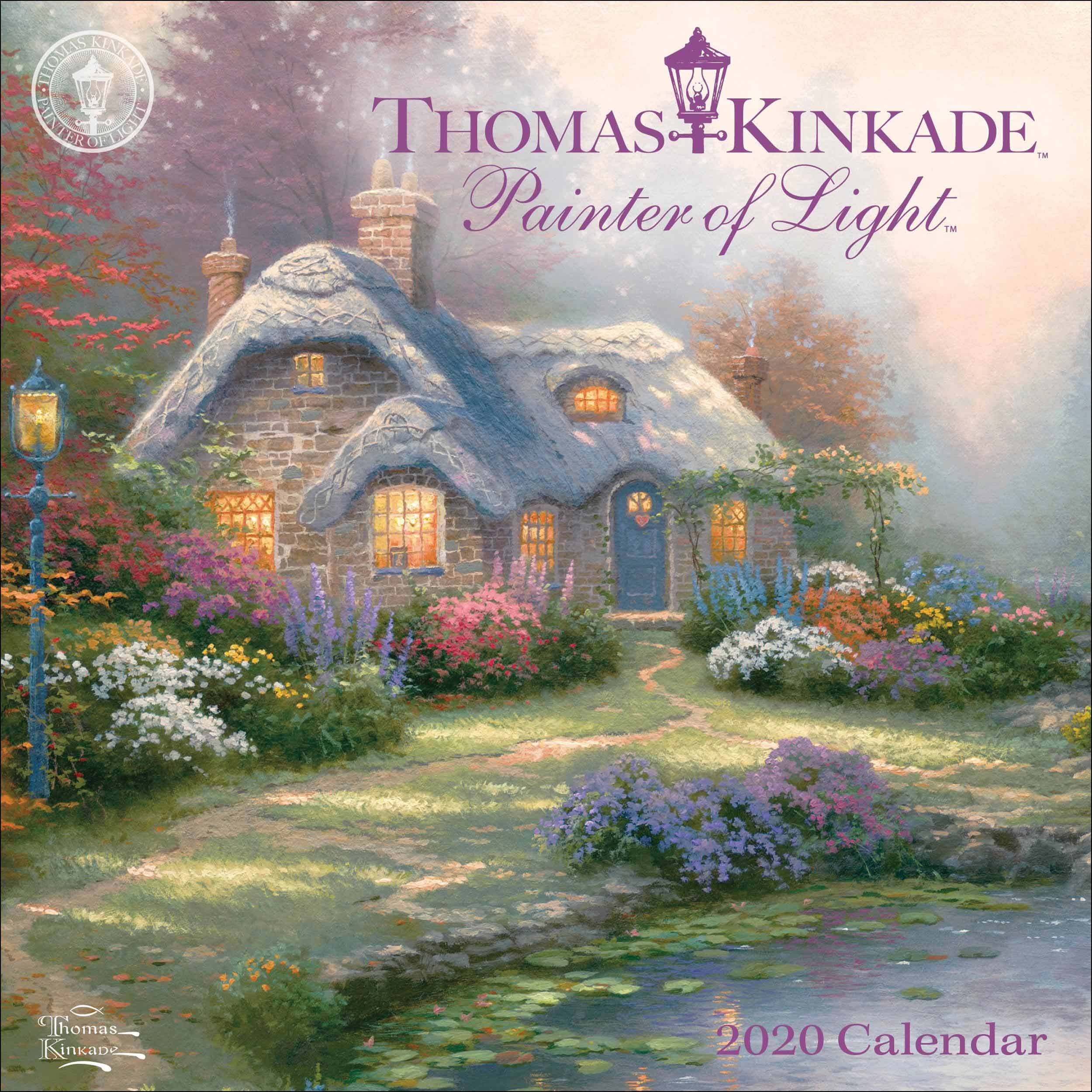 Kinkade, Painter Of Light Official Mini Calendar 2020 At How To Make Mini Calendars Of Only Monday To Friday
