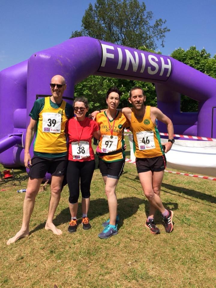 Kirkudbright Half Marathon Resultsteel City Striders Blank Training Calendar Tueday Nights