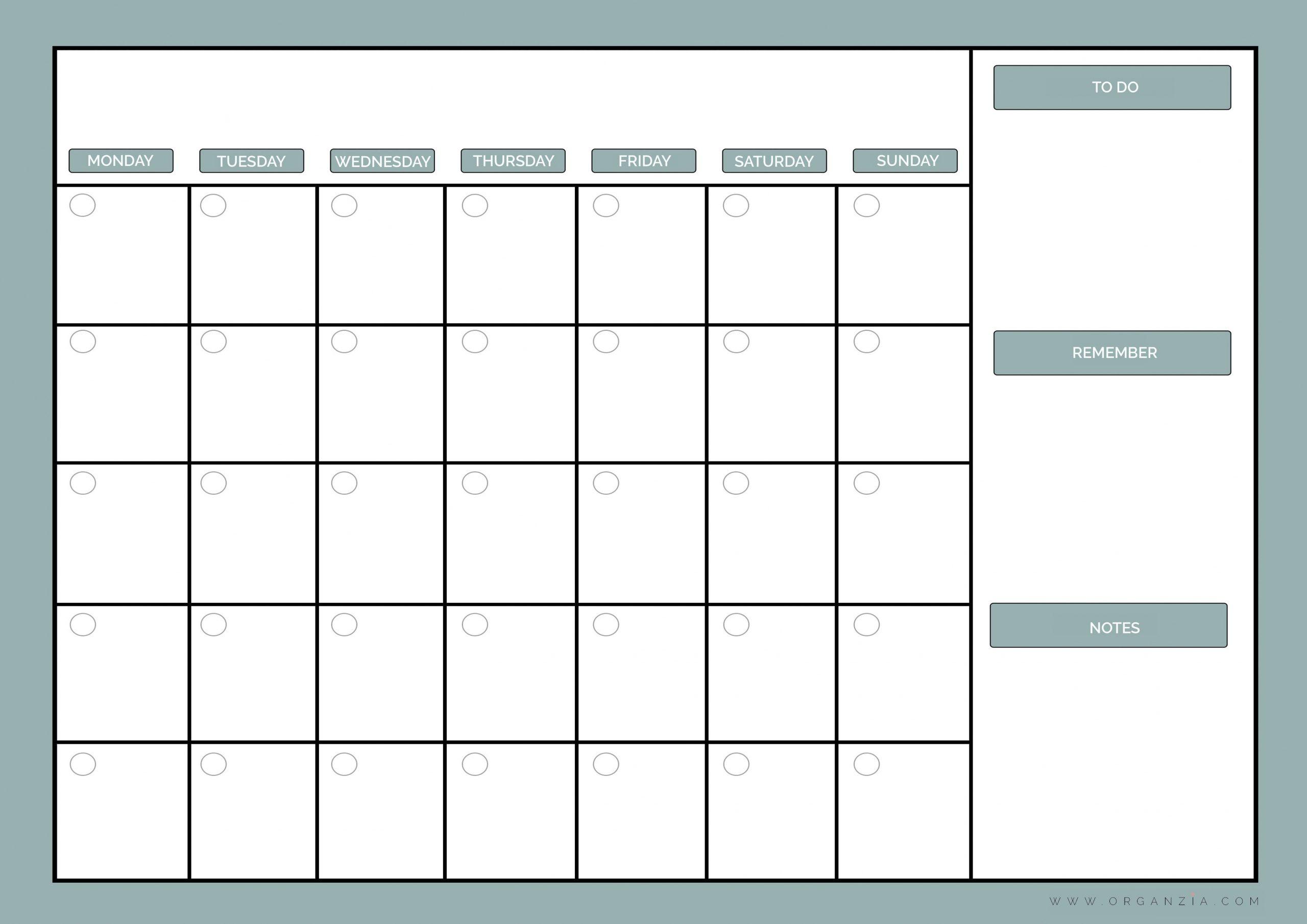 Lovely A3 Printable Calendar | Free Printable Calendar Monthly 3 Month Calendar Printable Free