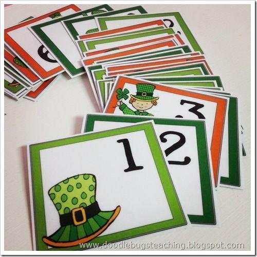 March Calendar Cards {Free Download} | Preschool Calendar Free Calendar With Number Cards