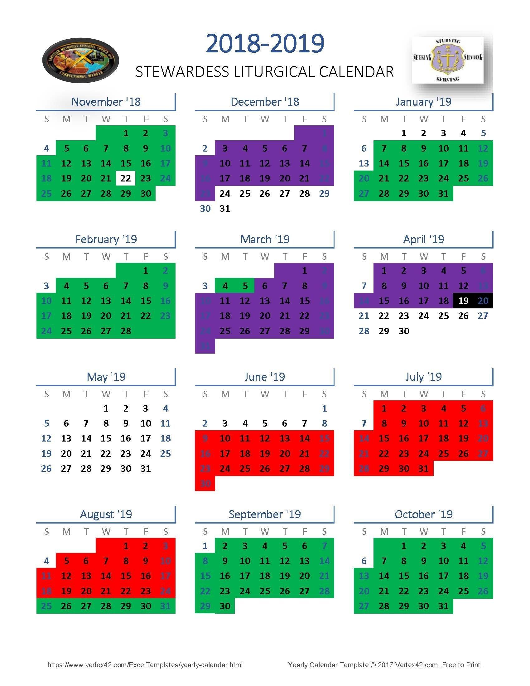 Methodist Church Liturgical Calendar 2020 – Template United Methodist Liturgical Calendar