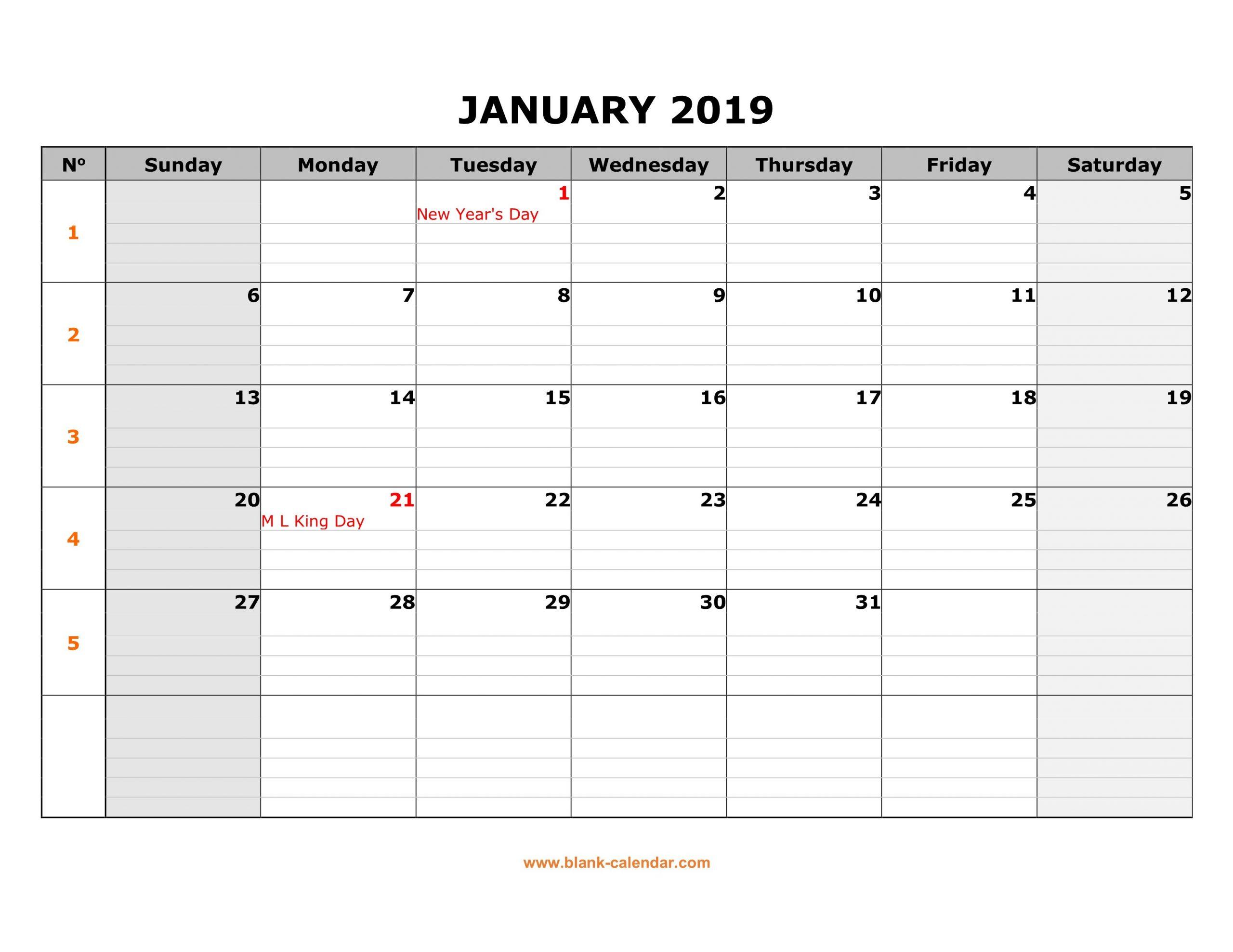 Monday To Friday Printable Monthly Calendar | Example Blank Calendar Grid Moday-Friday