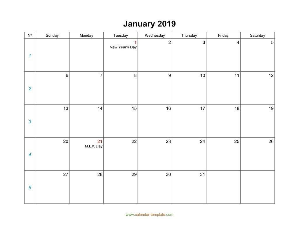 Monthly Monday To Friday Calendar | Calendar Template How To Make A Calendar In Word Monday Through Sunday