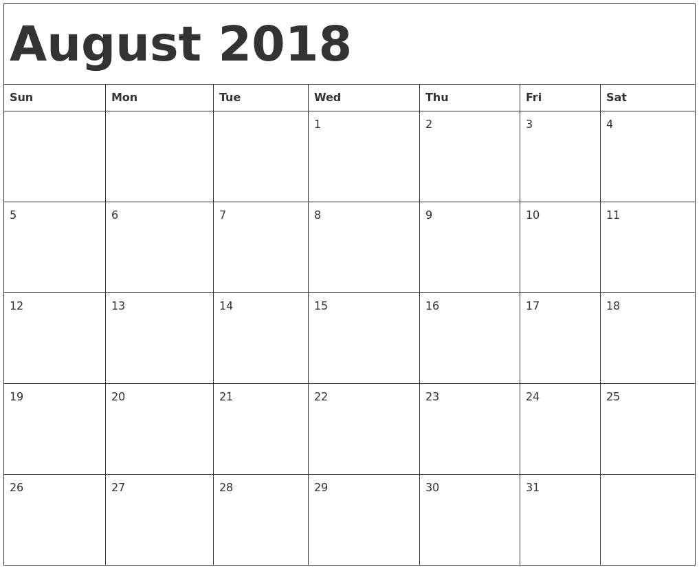 November 2018 Monday Through Sunday – Template Calendar Design Monday Through Sunday Planner