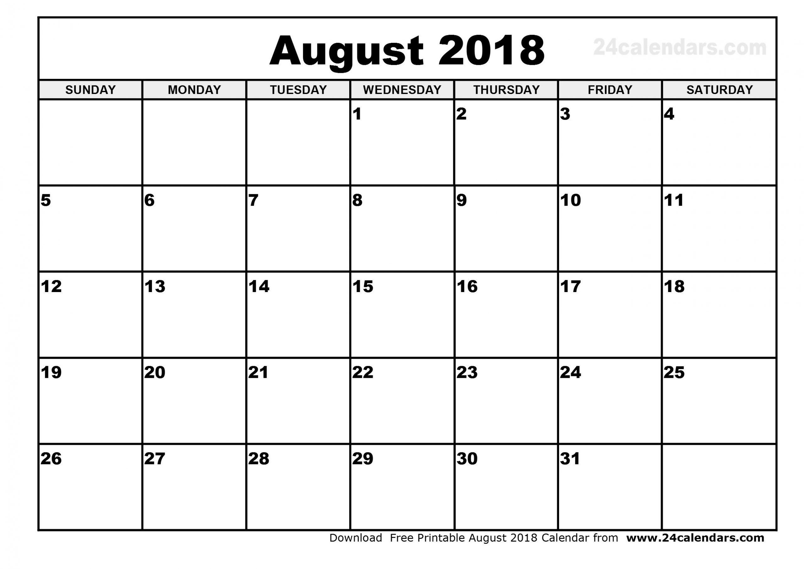 October 2018 – Template Calendar Design Day To Day Calendar Template