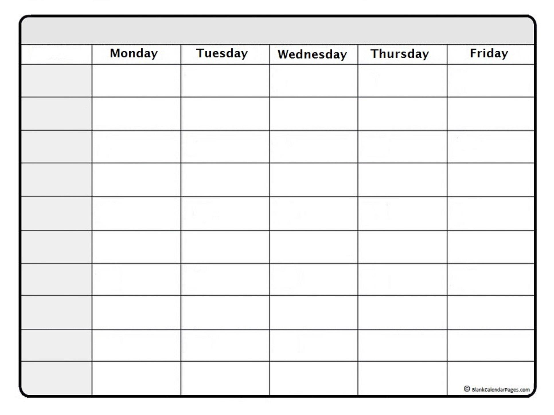 October 2020 Weekly Calendar | October 2020 Weekly Printable Time Calendar 1 Week