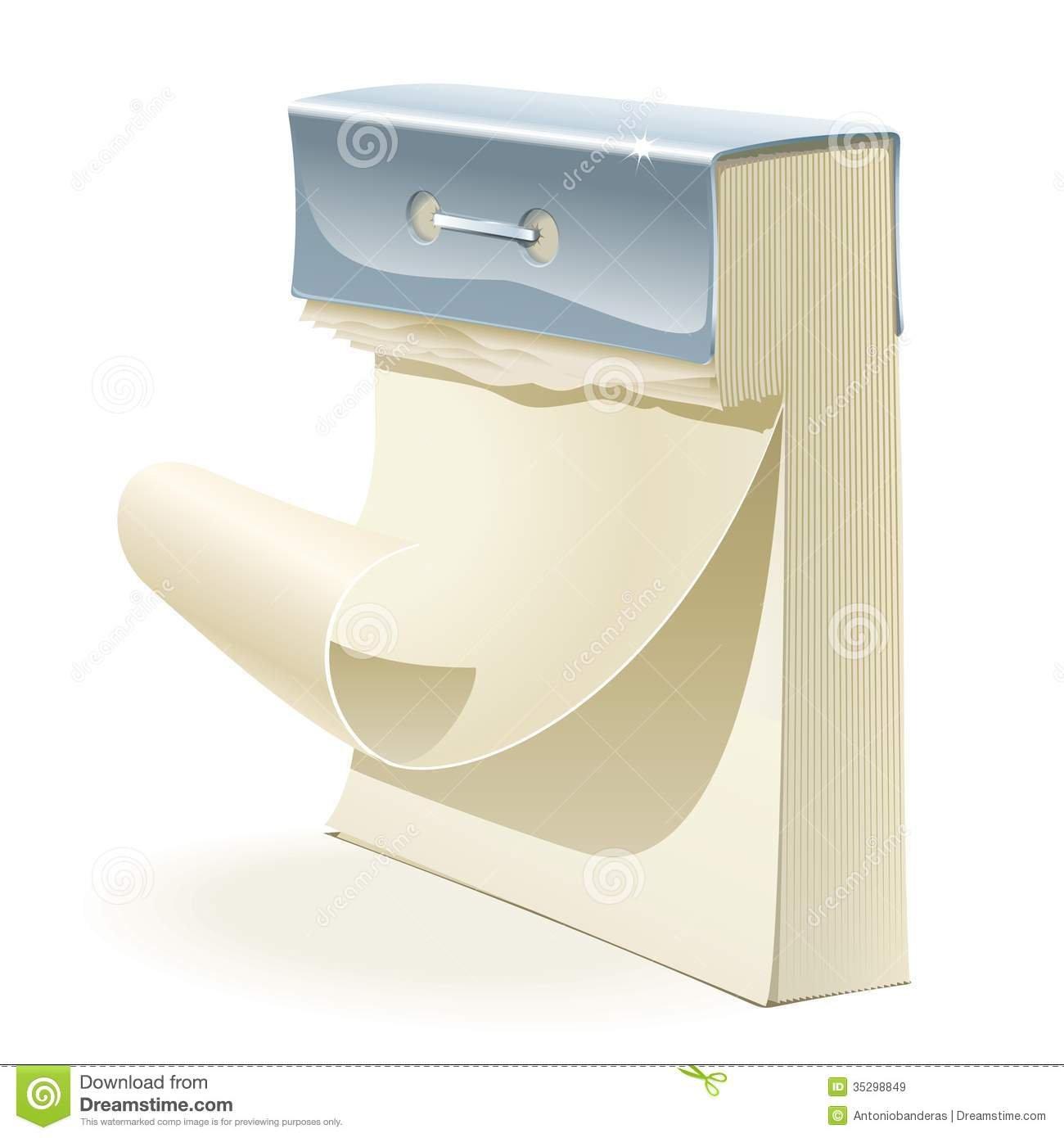 Paper Tear Off Calendar Royalty Free Stock Images – Image Free Printable Tear Off Calendar