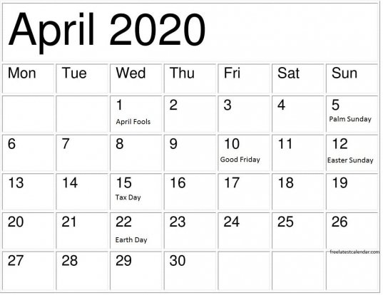 Pdf Calendars With National Days   Printable Calendar Free 2020 Calendar With Days Counted 1 365