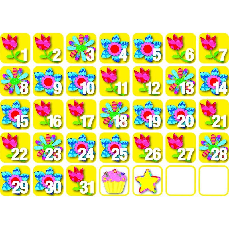 Pp Seasonal Calendar Days May   Ebay Numbers For Calendars 1 31 Toddlers