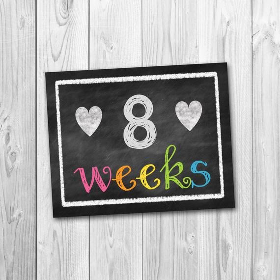 Pregnancy Calendar Countdown Chalkboard Printable Pregnancy Mitrinty Count Down Calendar