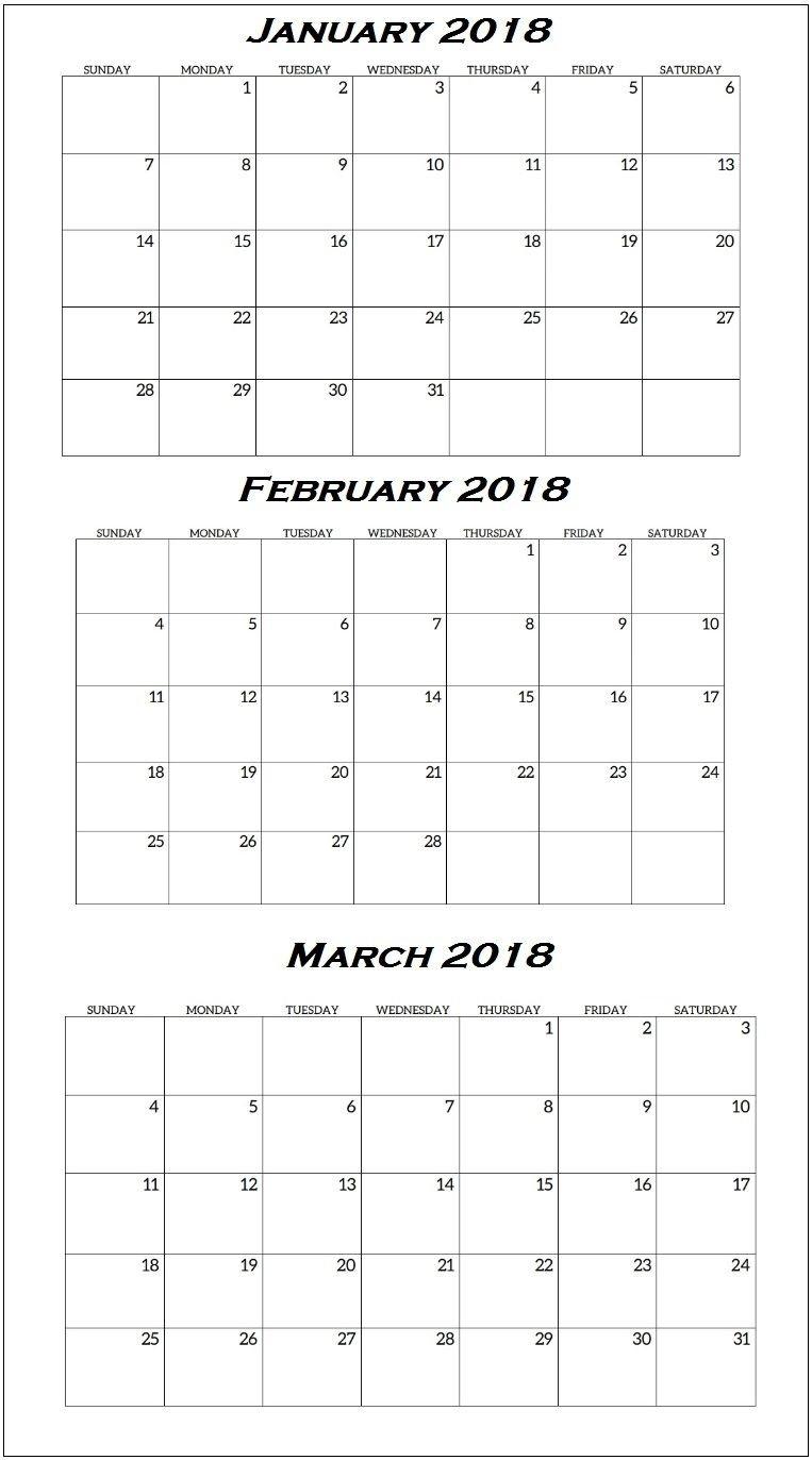 Print Free Calendar Quarterly | Ten Free Printable Free 4 Year Calendar Printable