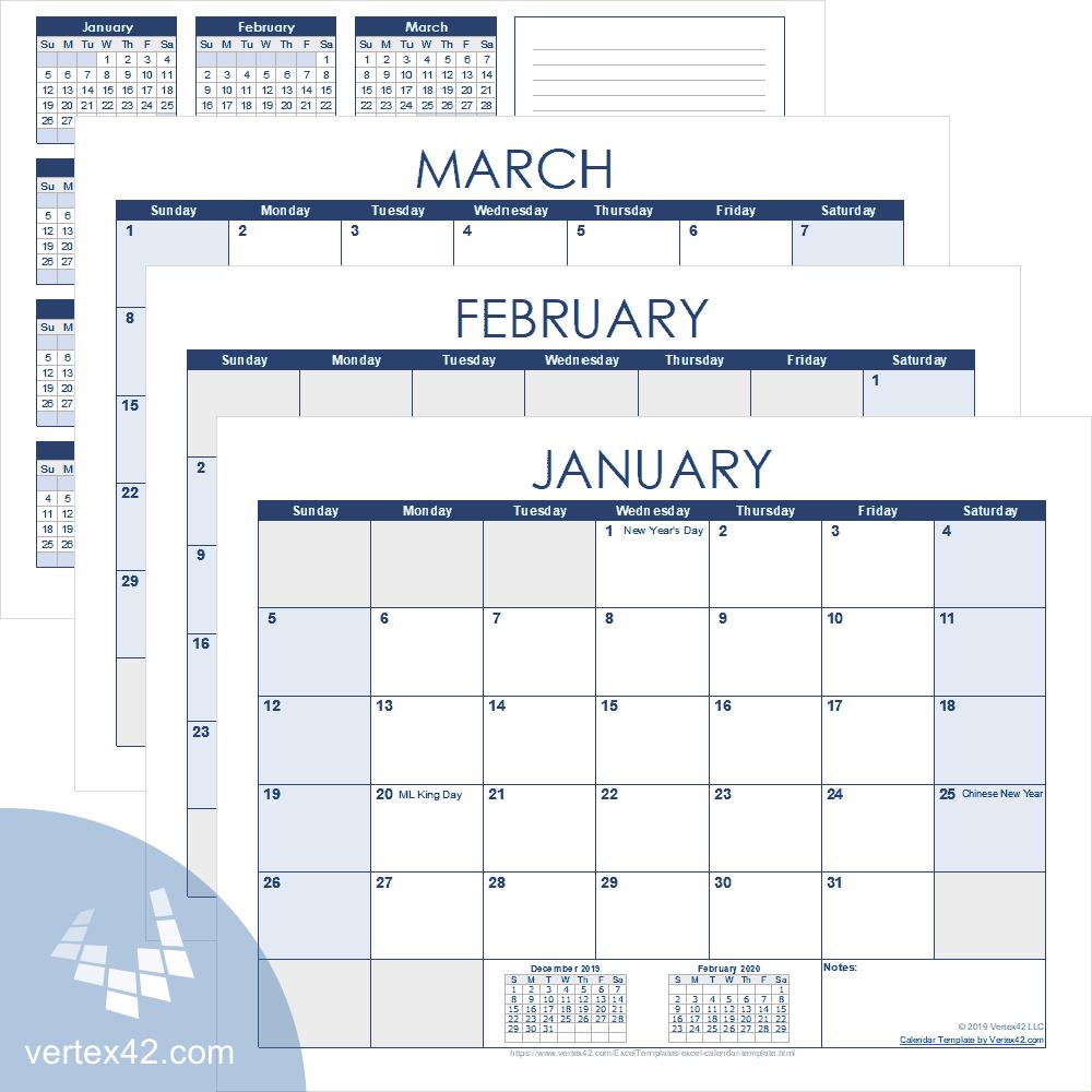 Printable Calendar 2020 December 5.5 X 8.5 | Calendar Libreoffice 5.5 X 8.5 Calendar