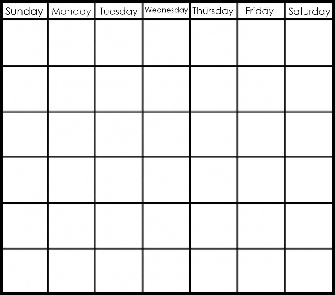 Printable Calendar 6 Week   Month Calendar Printable Printable 2 Week Calendar