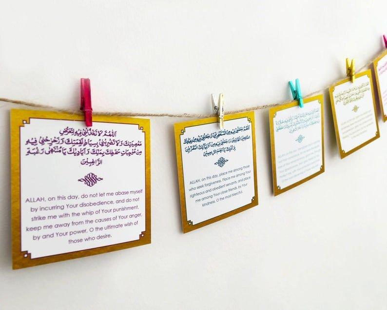 Ramadan Countdown Ramadan Advent Calendar Printable Ramadan Countdown Free Printable