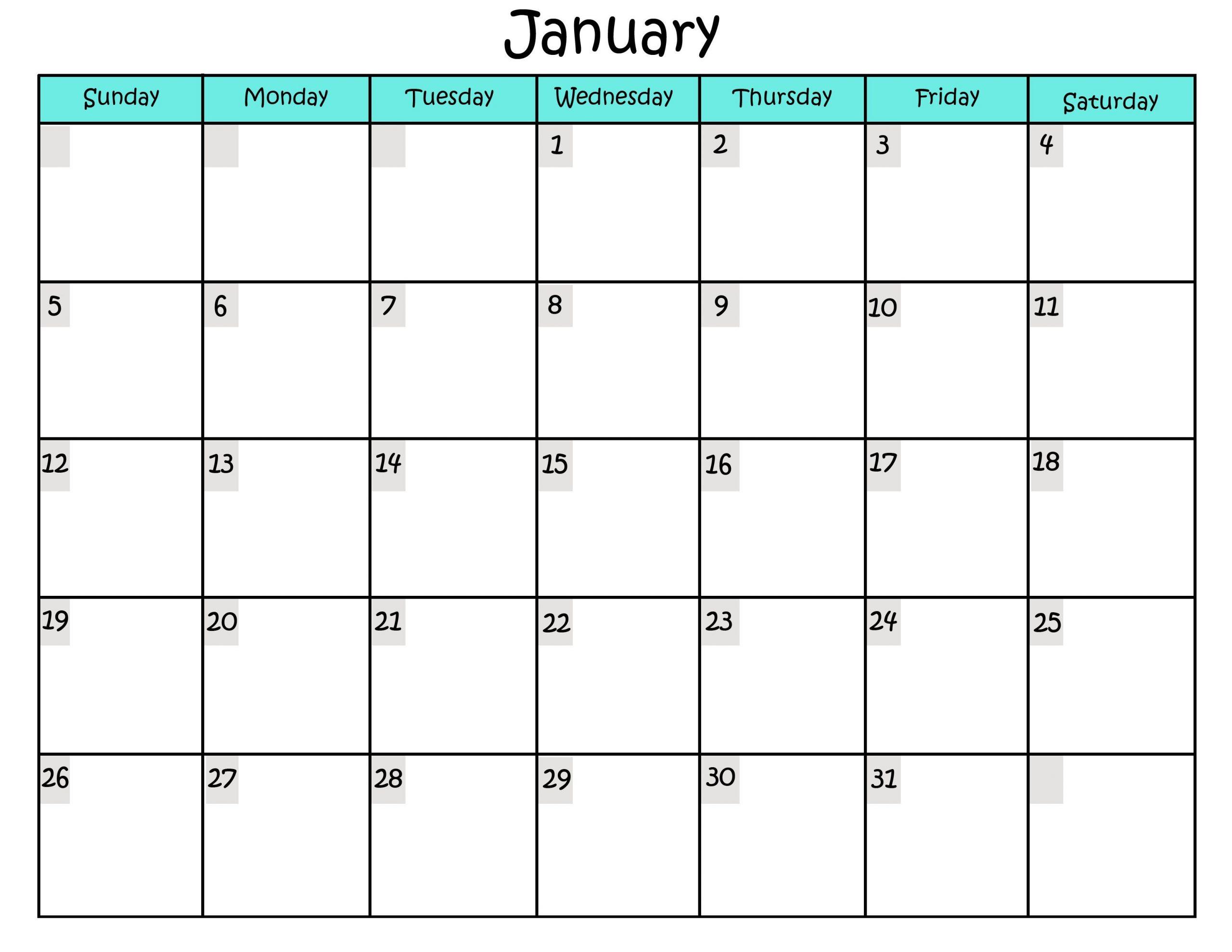 Sample Calendars To Print | Activity Shelter Calanda Templete That I Can Edit