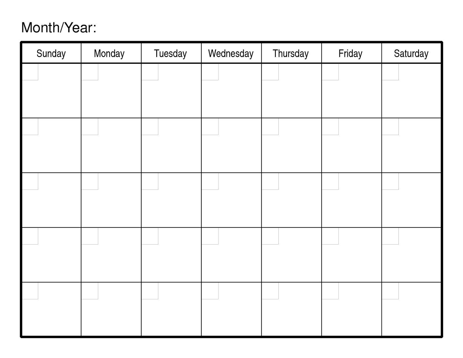 Sample Calendars To Print   Printable Blank Calendar, Free 1 Week Blank Editable Calendar