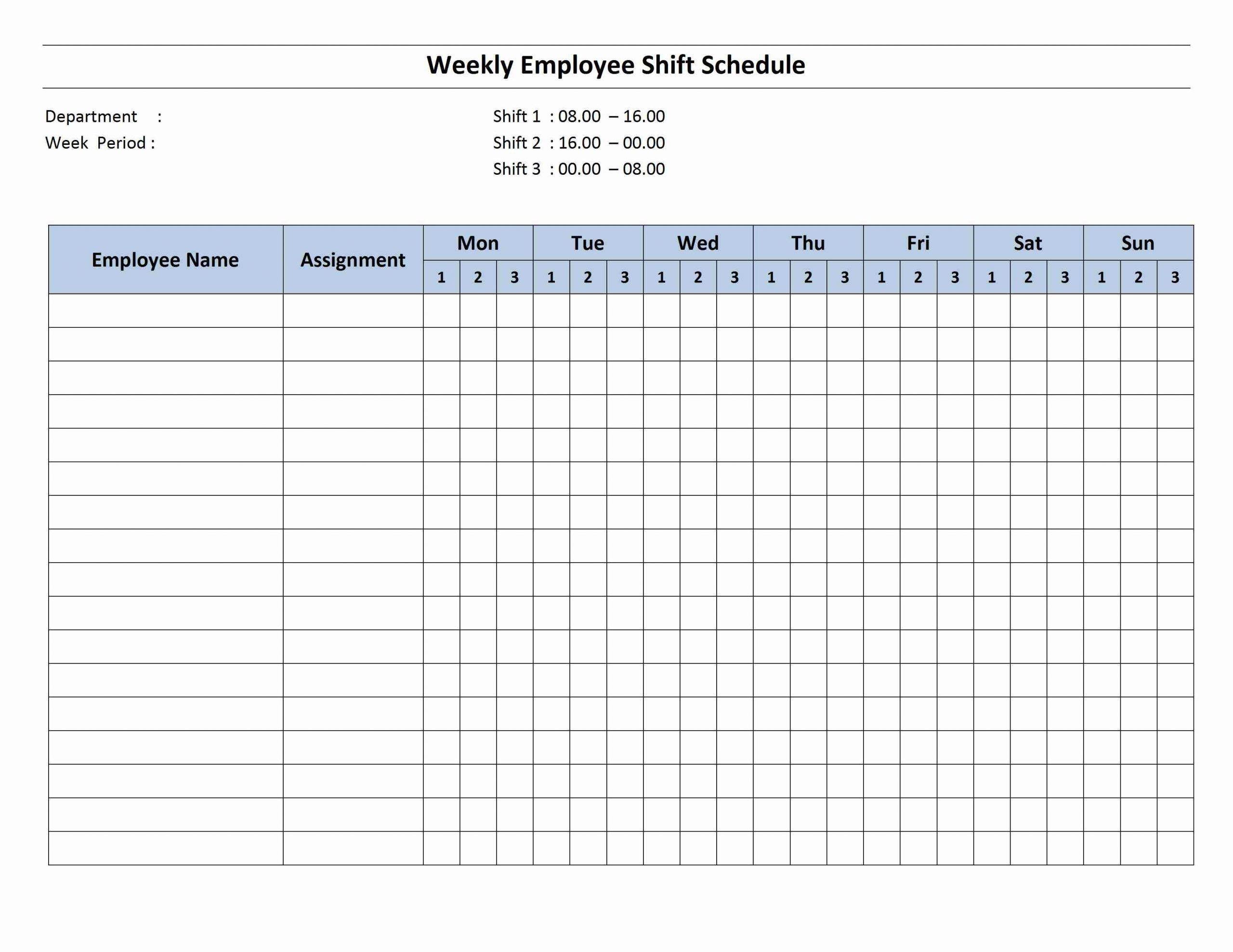 Schedule Archives   Page 2 Of 2   Freewordtemplates Two Week Schedule Pdf