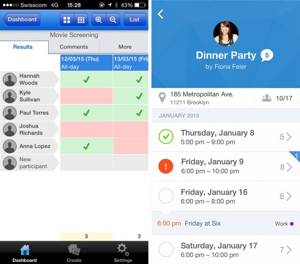 Scheduling App Doodle Tries To Redesign Itself For An Baby Due Date Doodle Poll