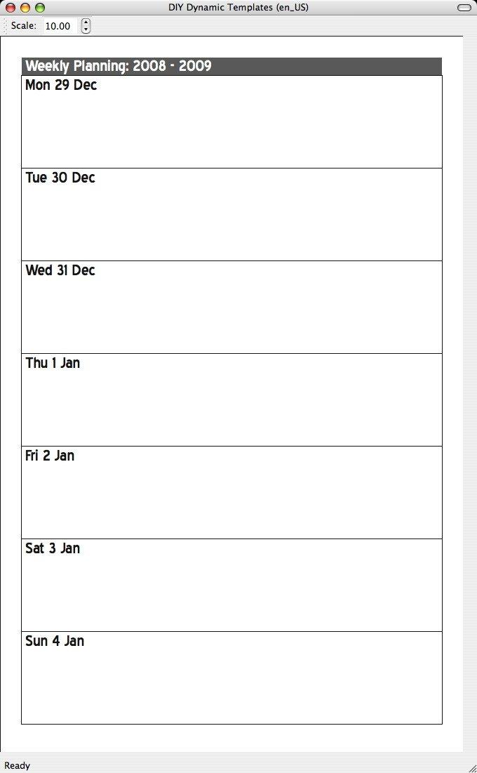 Single Day Calendar Template | Calendar Template 2020 Day To Day Calendar Template