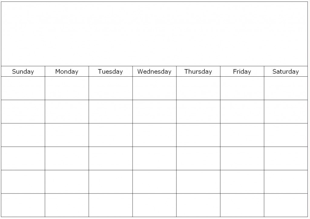 The Dynamic Duo: How To Ease The Back To School Transition 1 Week Blank Calendar Printable
