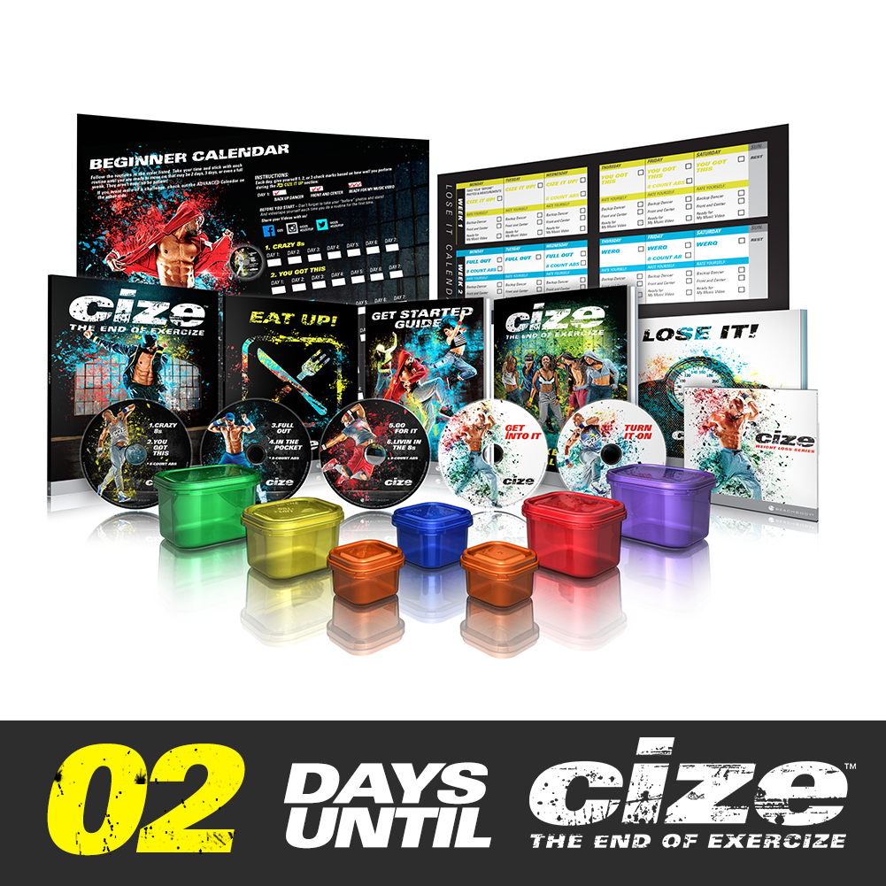 This Is The #Cize Base Kit Comes With Calendar, Workouts Hip Hop Abs Schedule Printable