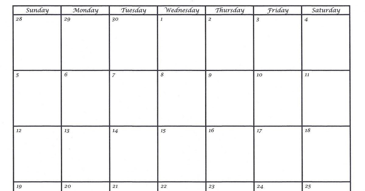 Two Week Calendar Template   Shatterlion 2 Week Prinatable Calendar