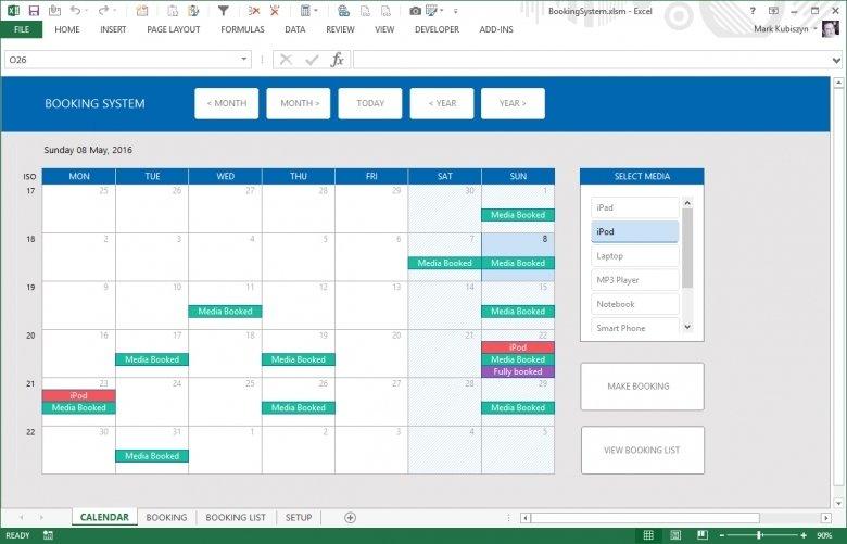 Userform For Calendar : Free Calendar Template Excel Add Calendar Drop Down Into A Template