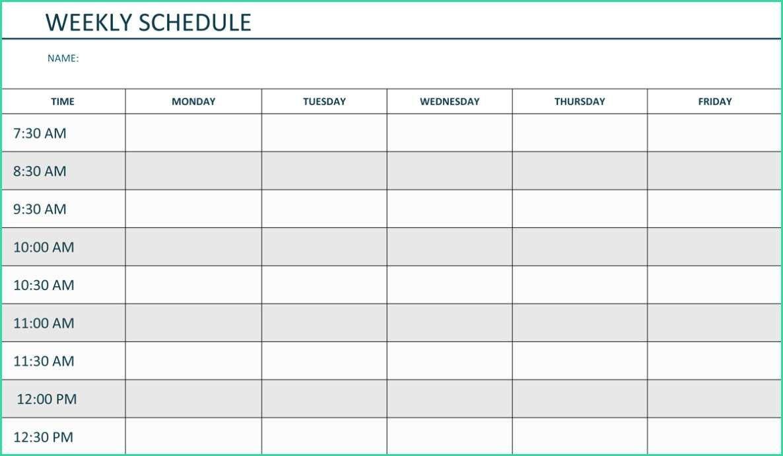 Weekly Calendar Template Monday To Friday | Example Free Printable Monday Thru Sunday Calendars