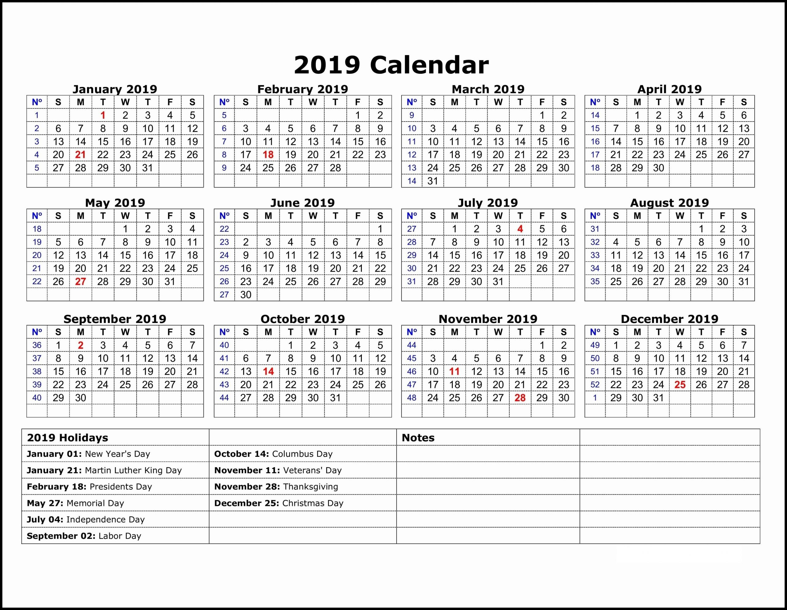 Year Calendar With Notes   Calendar Printables Free Templates One Note Track In Calandar Format
