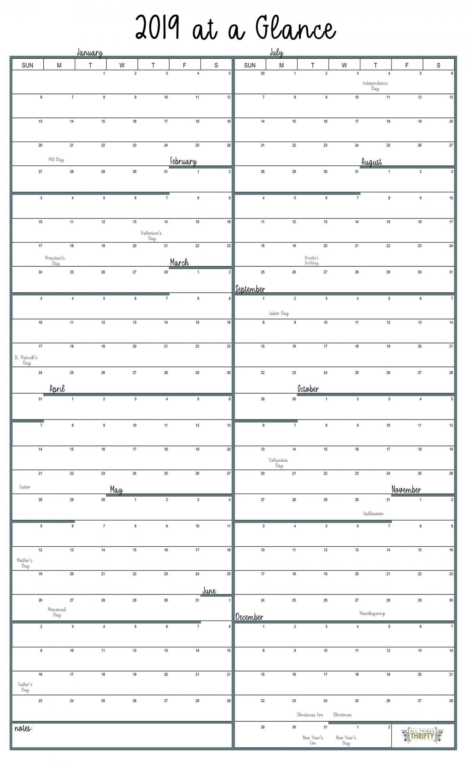 1 Year Calendar At A Glance   Month Calendar Printable Free Printable 8 X 11 May Calendar