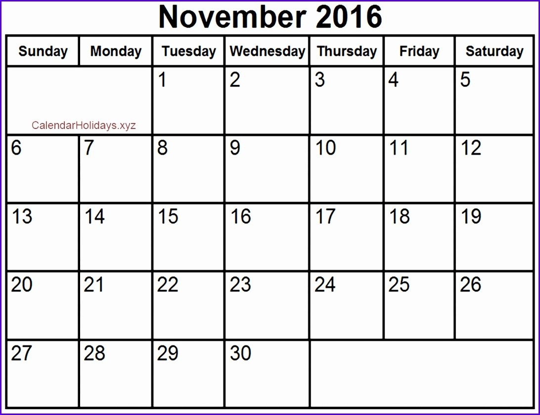 10 Blank Calendar Template Excel – Excel Templates – Excel 445 Calender What Is This