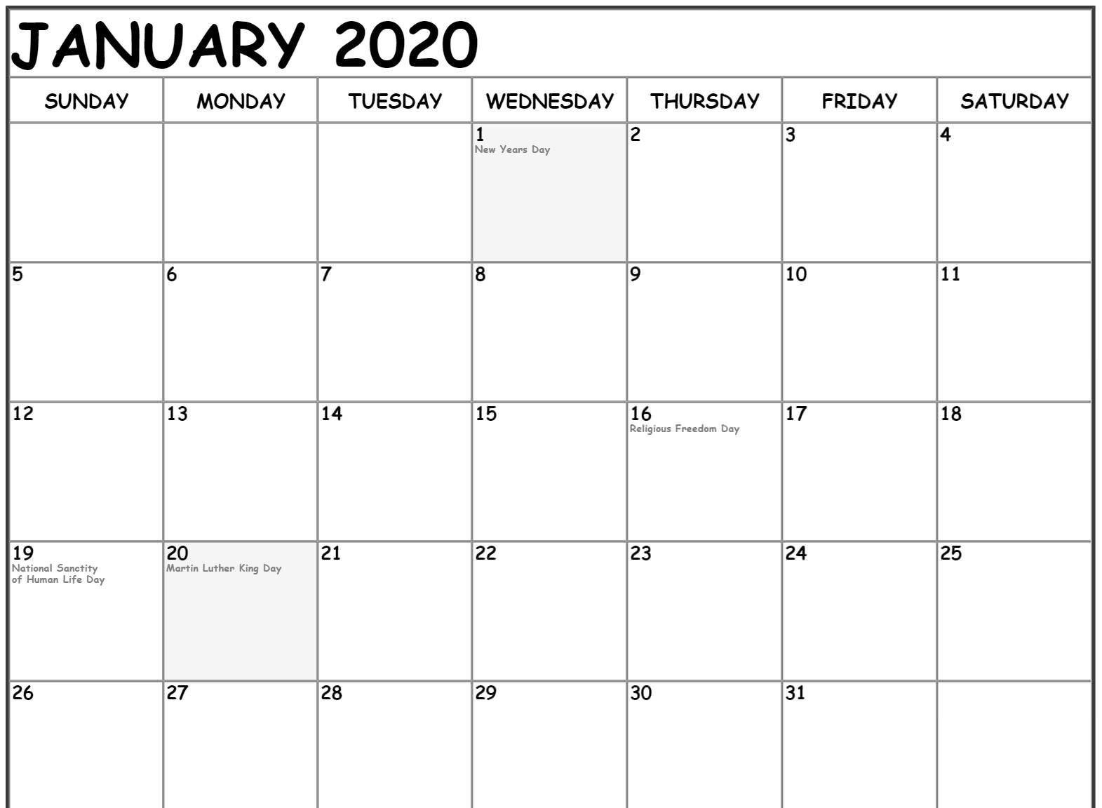 12 Month Fillable Calendar Template | Calendar Template 2020 12 Month Calendar Editable Templates