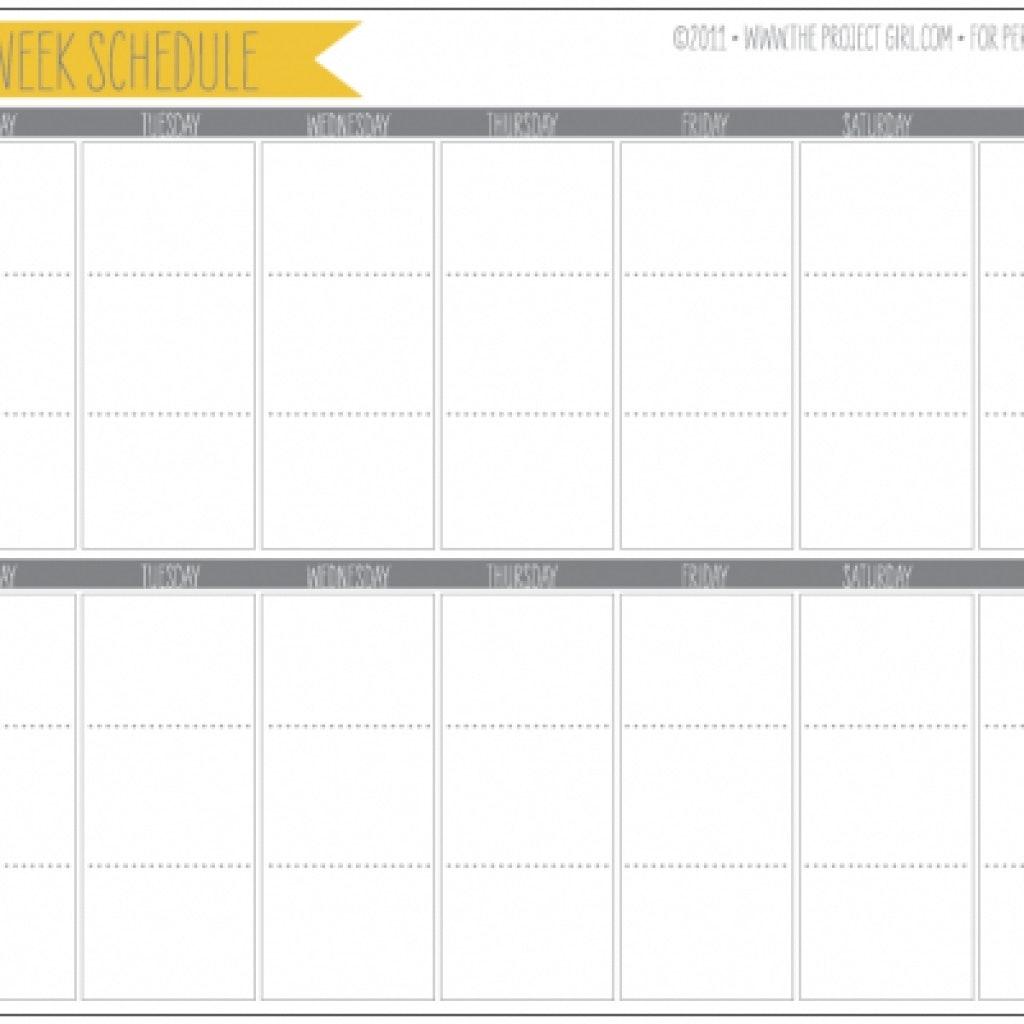 2 Week Calendar Printable : Free Calendar Template Printable Calendar 2 Weeks