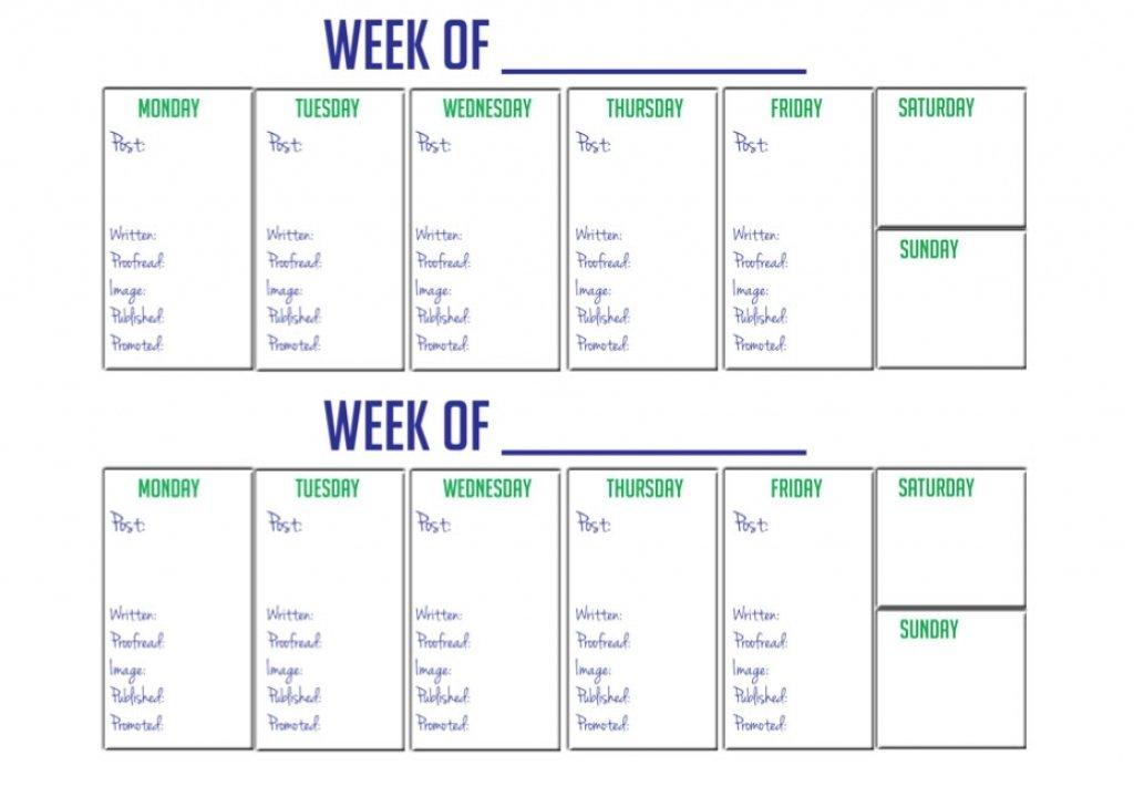 2 Week Printable Calendar : Free Calendar Template Editable 2 Week Calendars