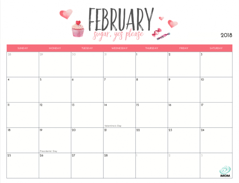 20 Free Printable Calendars For 2019 – Yesmissy 8X5 Monthly Calendar Print Outs