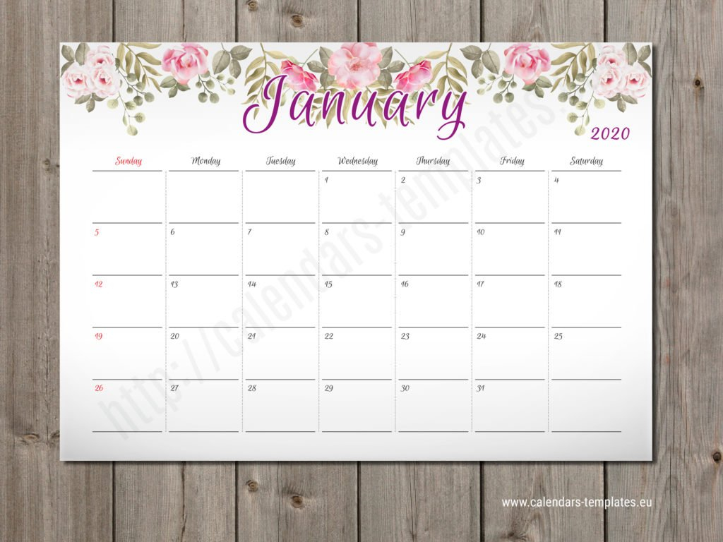 2020 Monthly Planner Pm W2 – Calendar Template 2 Week Calendar Editable