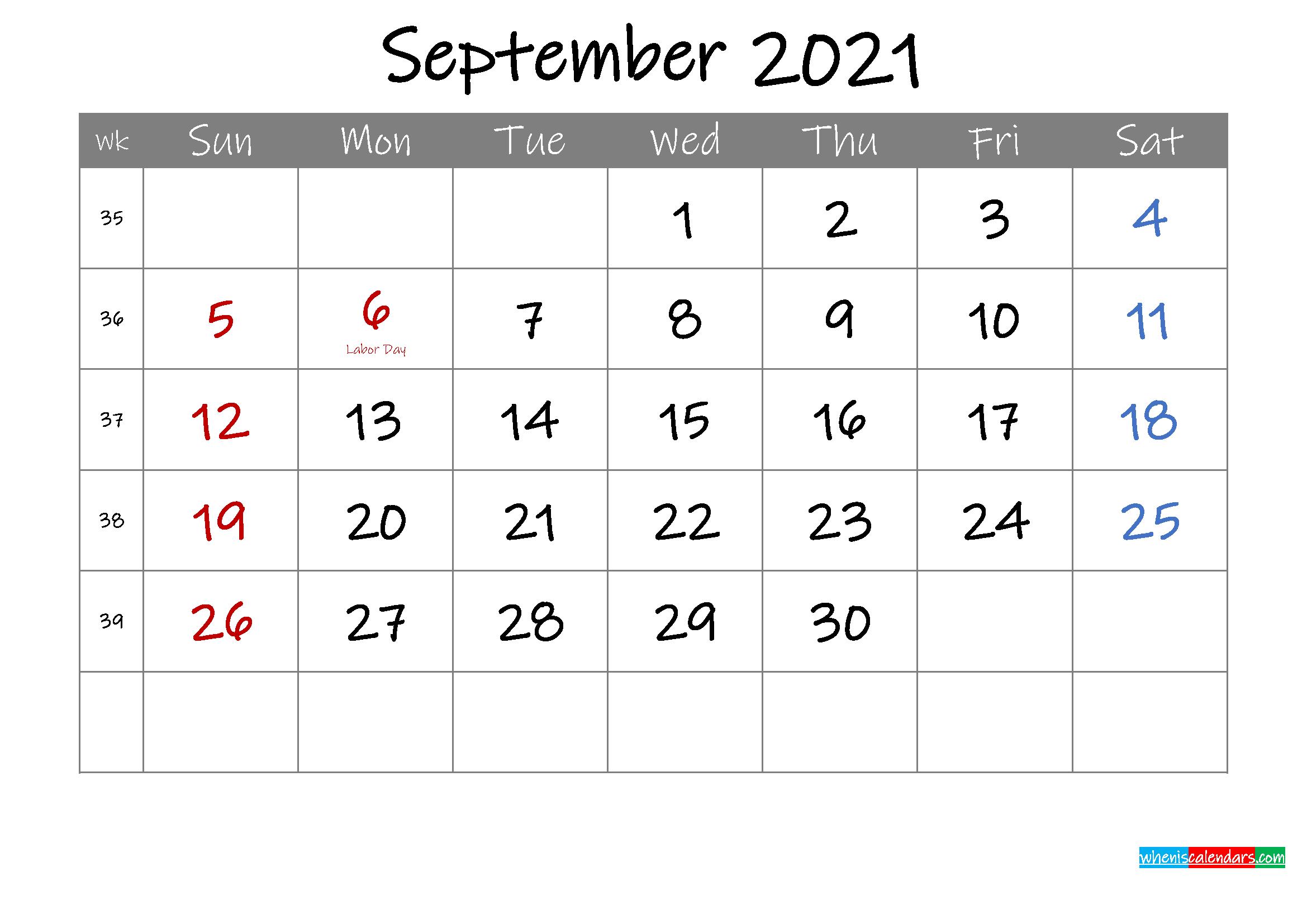 2021 Monthly Calendar Printable Word / 2021 Calendar (Pdf Online Calander I Can Edit
