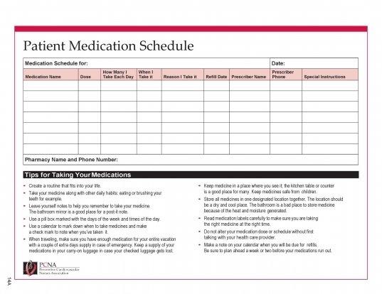 28 Days Medication Calendar 2020   Printable Calendar 28 Day Medication Expiration