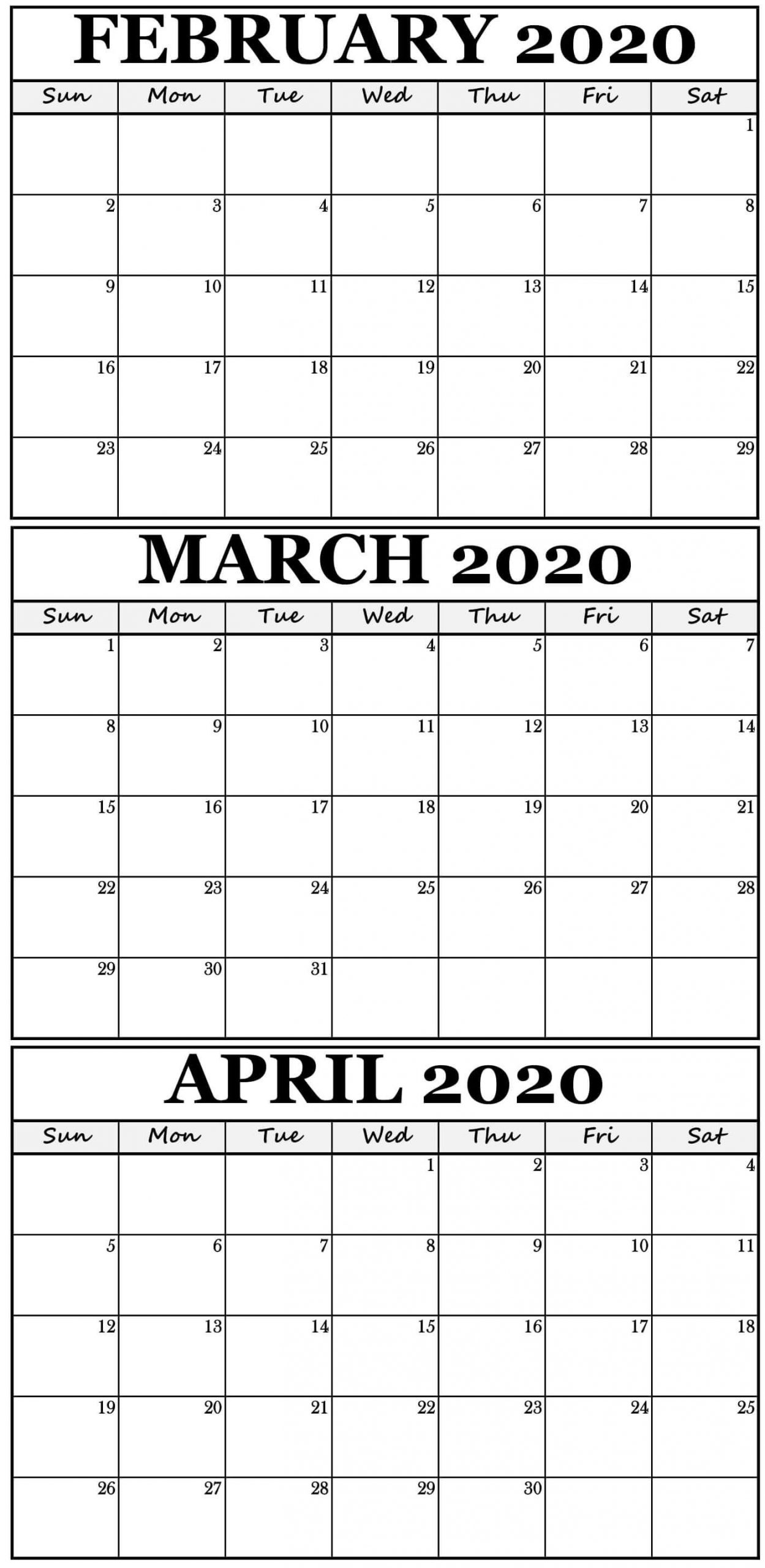 3 Month Blank Printable | Calendar Template Printable 3 Month Calendar Free Printable