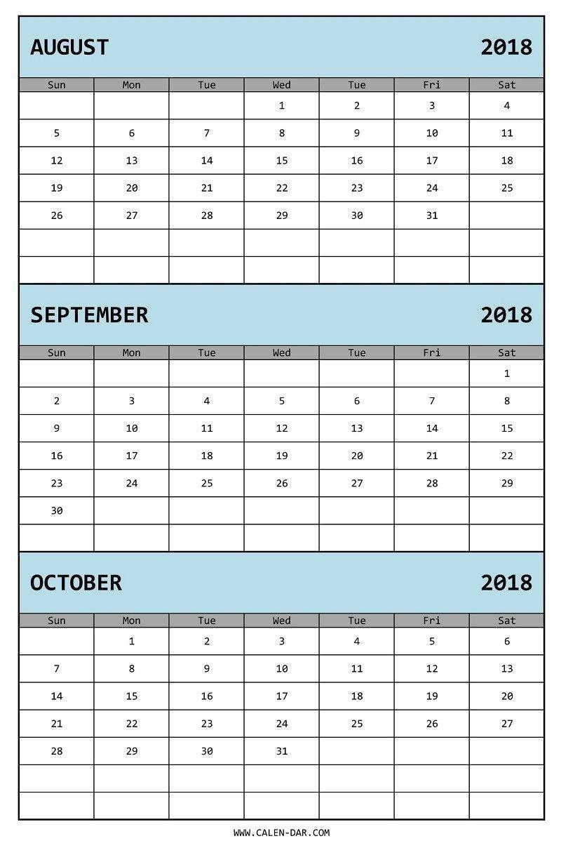 3 Month Printable Calendar In 2020 | June Calendar Print 3 Month Calendar