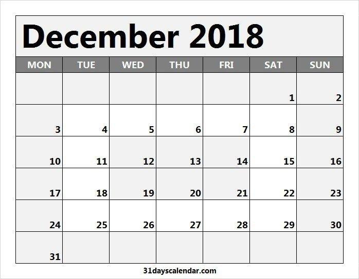 31 Day Monthly Schedule   Printable Calendar Template 2021 31 Day Blank Calendar Printable