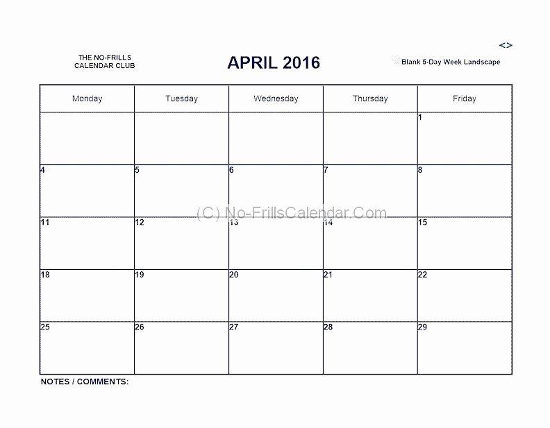 41 Monday Through Friday Hourly Calendar   Ufreeonline Meeting Templates Mon – Fri