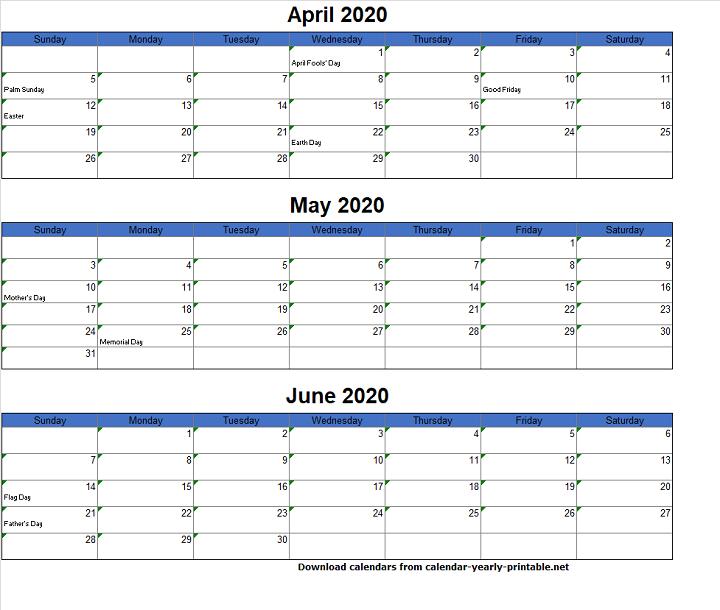 5 Essential Tips For 3 Month Calendar Template Excel Print 3 Month Calendar