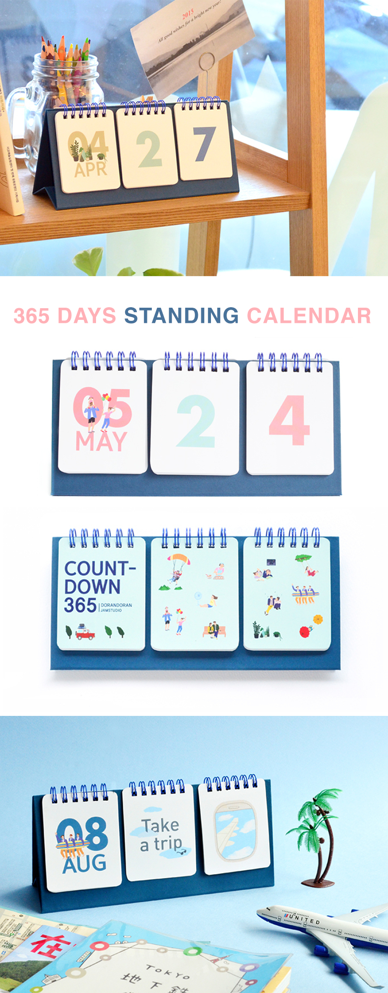 A Calendar That Will Last You Years And Years To Come? Yes Free 365 Day Countdown Calendar Days