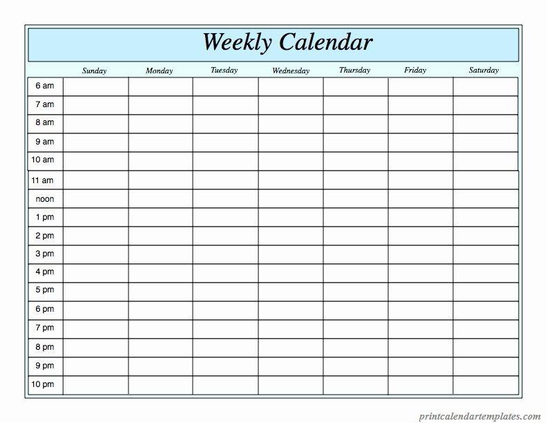 Agenda With Time Slots Luxury Free Printable Weekly Free Printable Weekly School Schedule With Time Slots