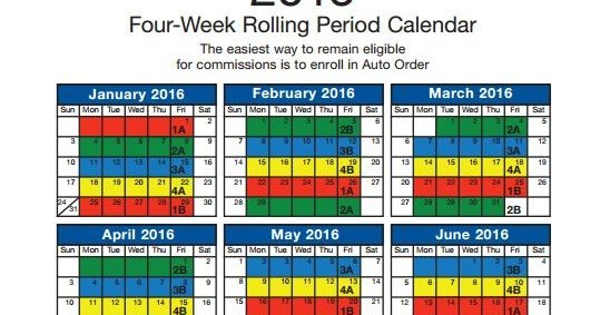 All About Usana: When Is My Auto Order Monthly Deadline? Next Two Week Calendar