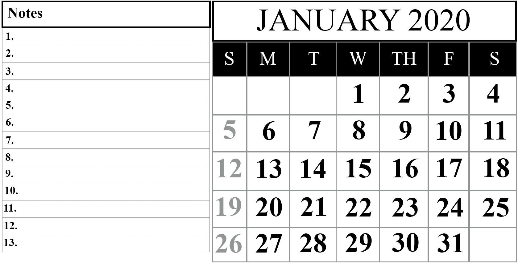Blank 2020 Calendars To Edit – Calendar Inspiration Design Online Calander I Can Edit