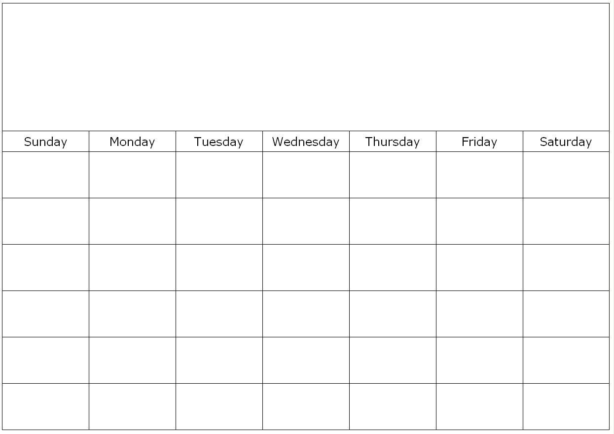 Blank Calendar Page Monday To Friday | Calendar Template Monday Friday Calandar With Lines Printable