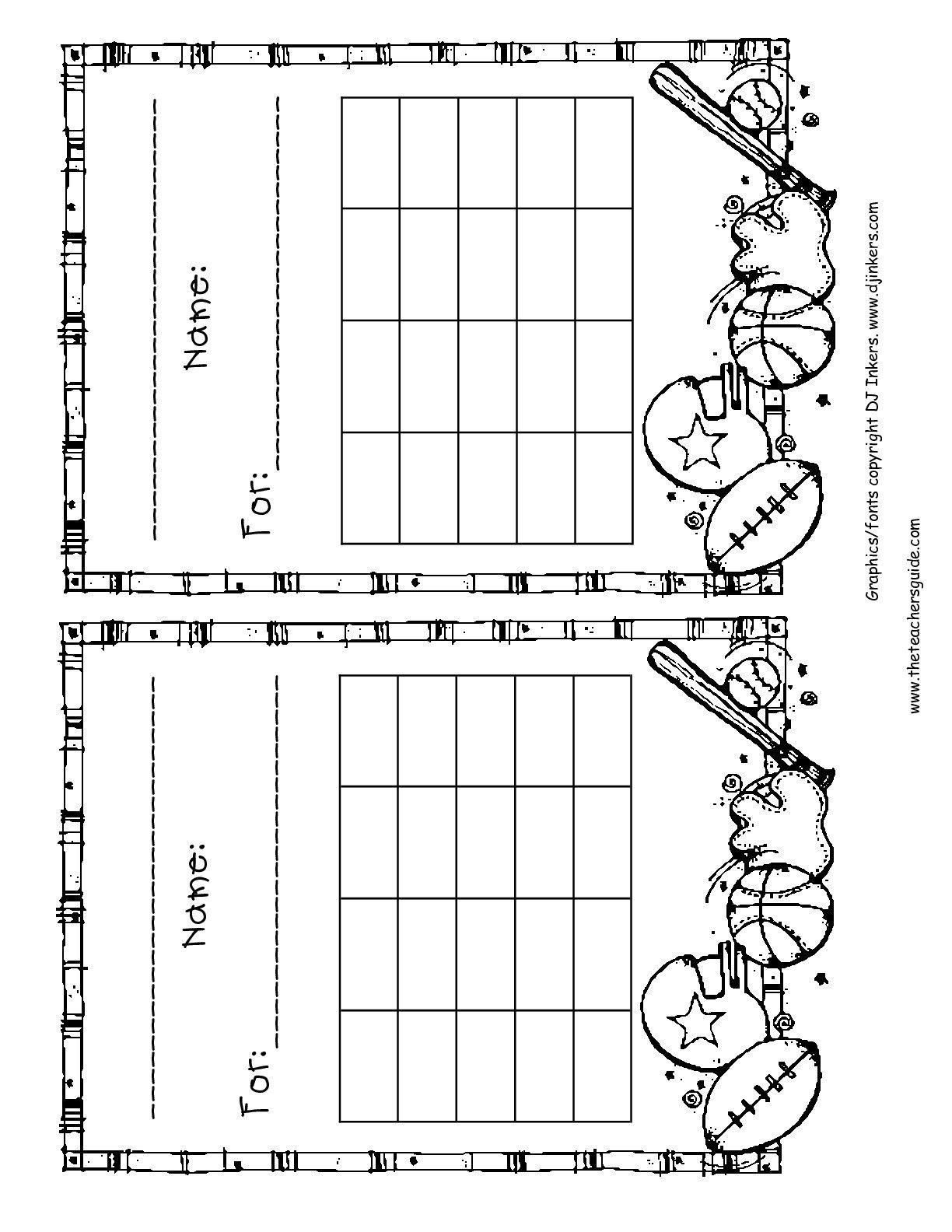 Blank Free Printable Star Charts Monday Thru Friday Monday Through Friday Chart Wincalnder